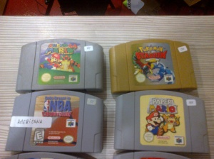 juegos vintage, Nes, Super Nes, Nintendo 64, Sega megadrive, GB Advance, Gb clasica , Game boy Color, Nintendo DS y Game Gear